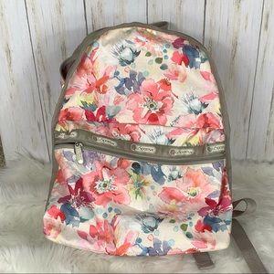 LeSportsac Waterlilly Garden Backpack
